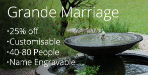 Grande Marriage Wedding Package